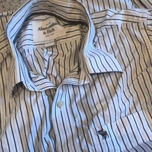 Abercrombie & Fitch Men's Button Up Shirt